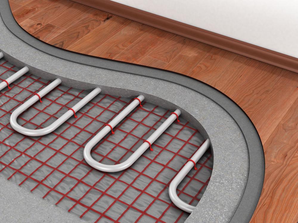 Padlófűtés beton vastagsága