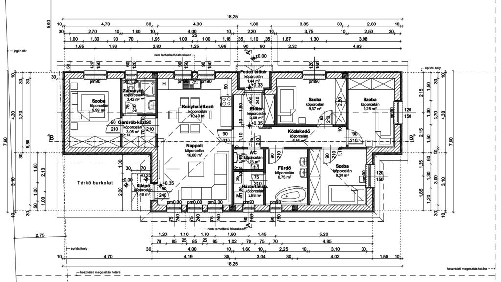 Generálkivitelezés Kecskemét 93 m2