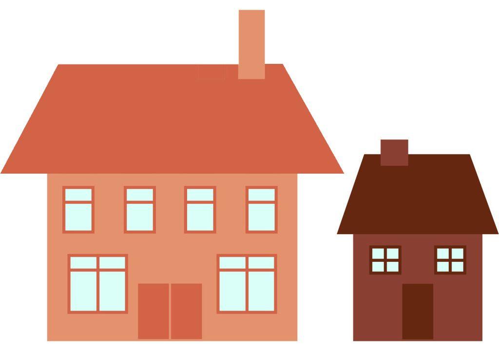 kicsi ház vs nagy ház