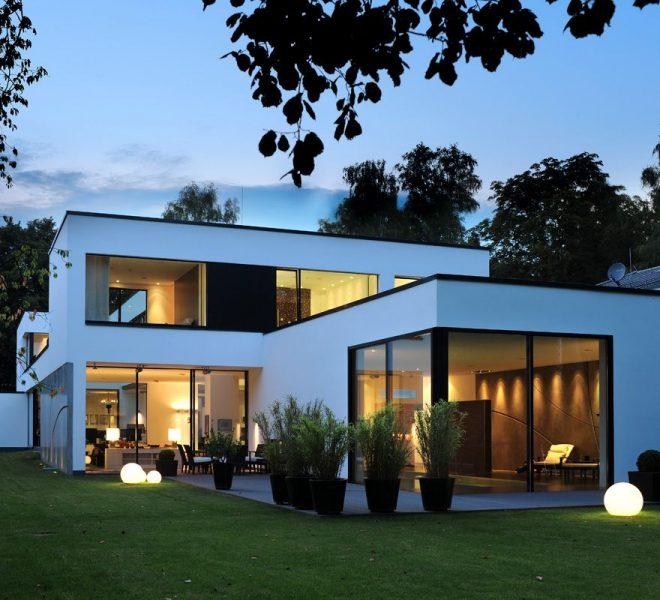 minimál stílusú ház