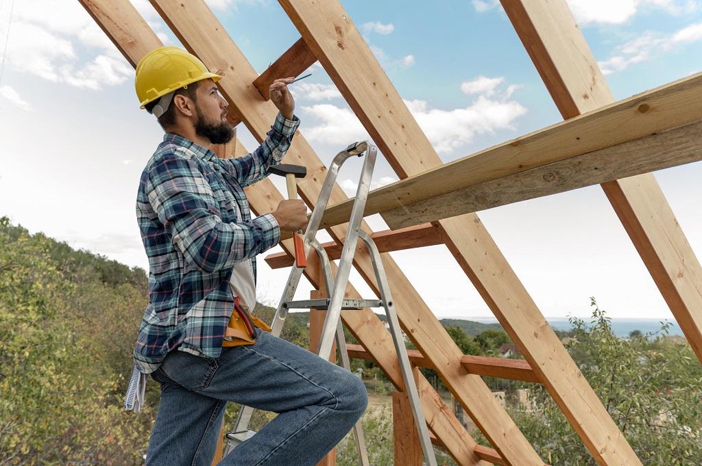ácsolt tető készítése