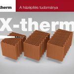 Porotherm X-Therm téglacsalád